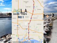 LA River Trek Day 1