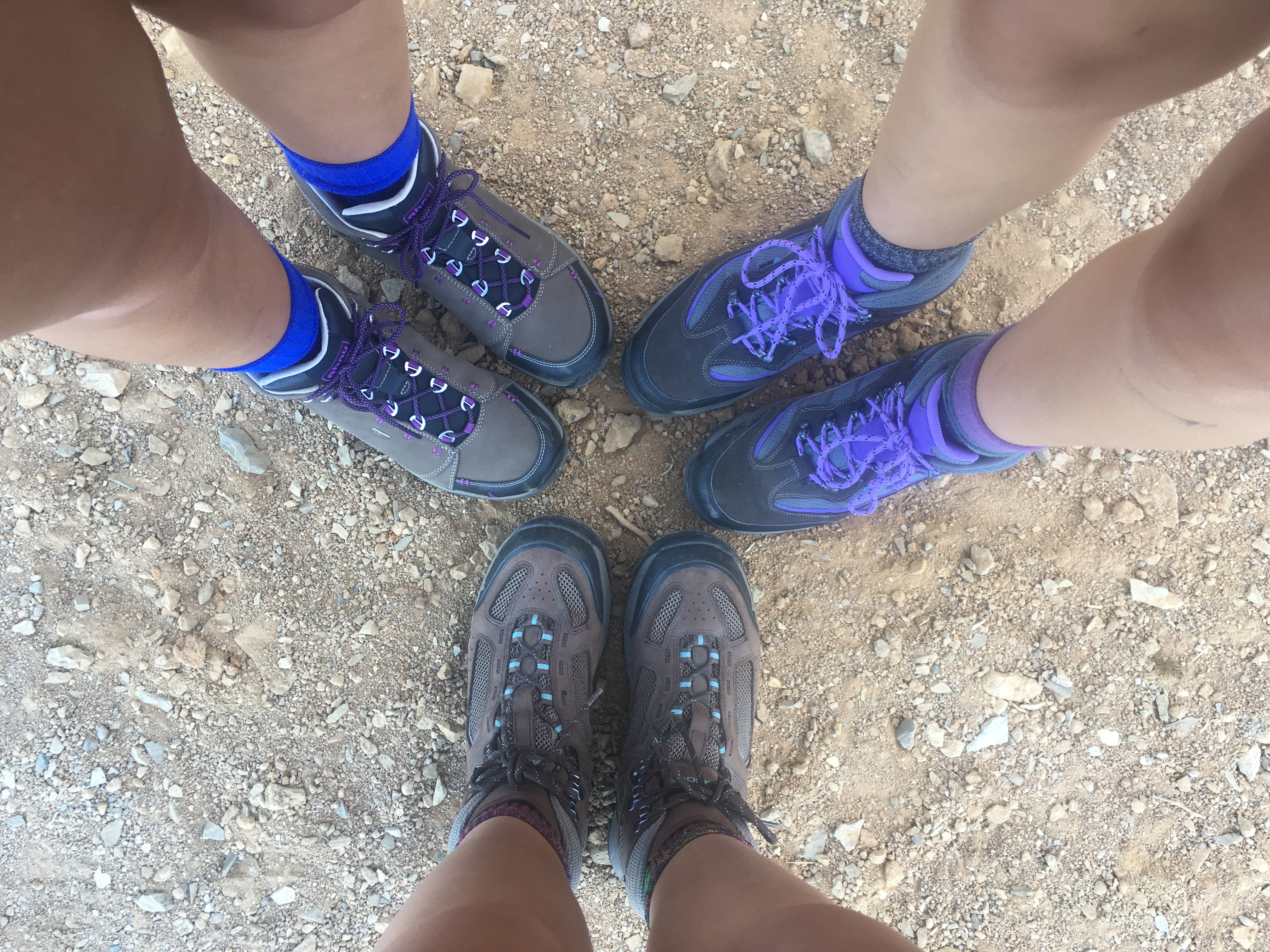 Sister's Hiking Boots
